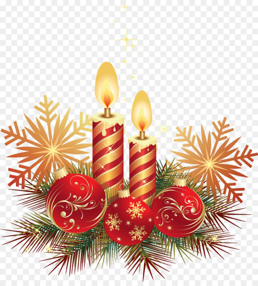 Natal Pohon Natal Lilin Gambar Png