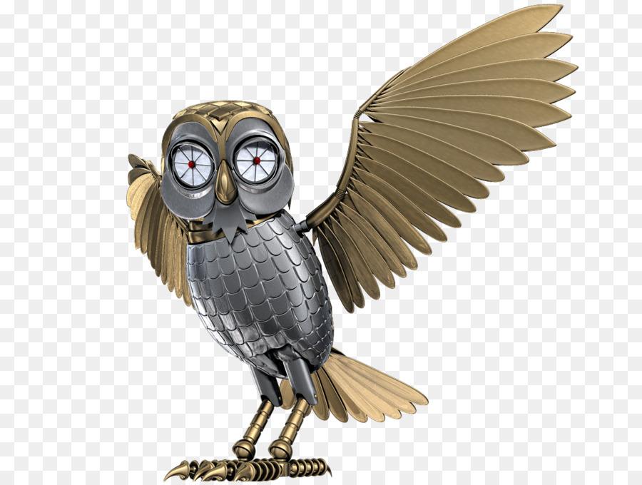 Burung Hantu Burung Robot Gambar Png