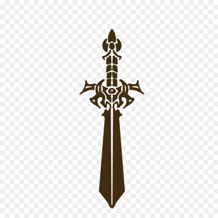 Pedang Logo Perisai Gambar Png