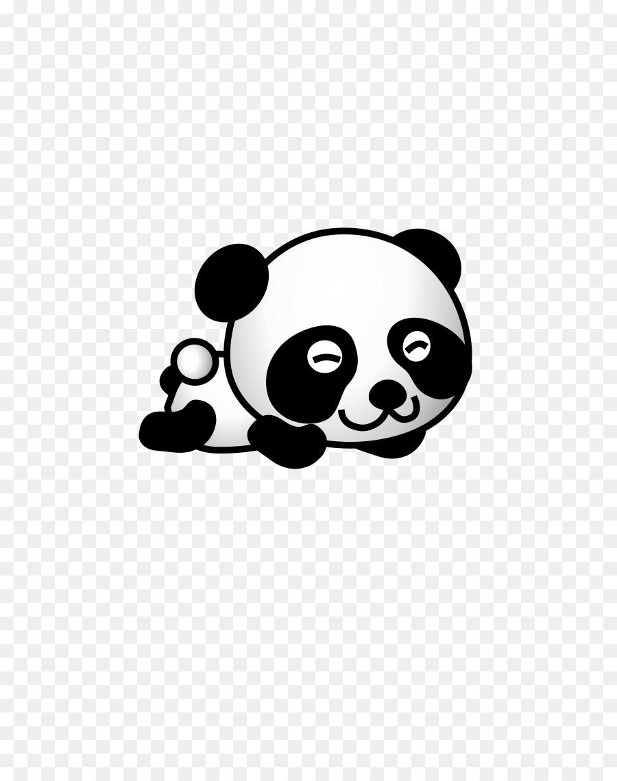 Panda Raksasa Beruang Kelucuan Gambar Png