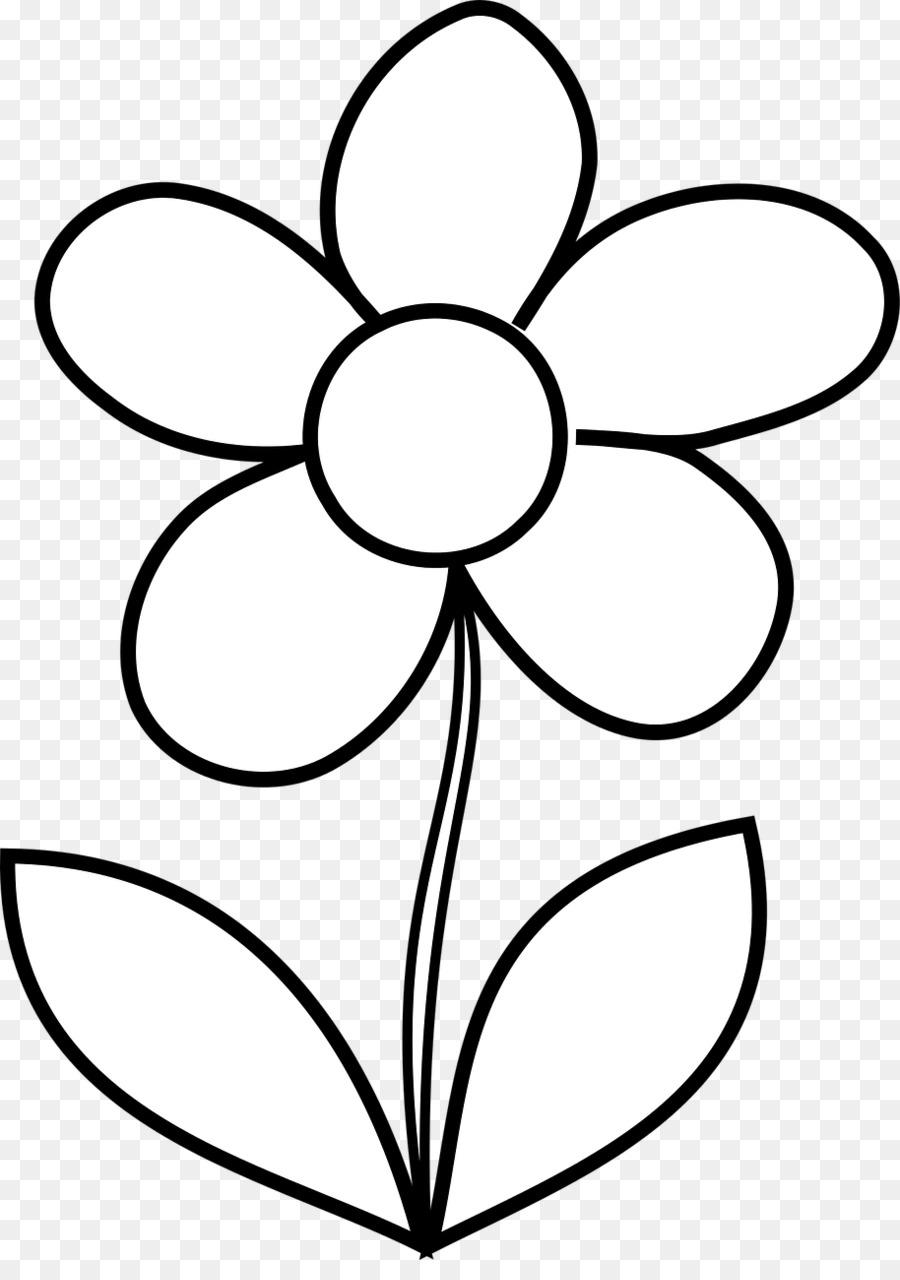 Buku Mewarnai Bunga Dewasa Gambar Png