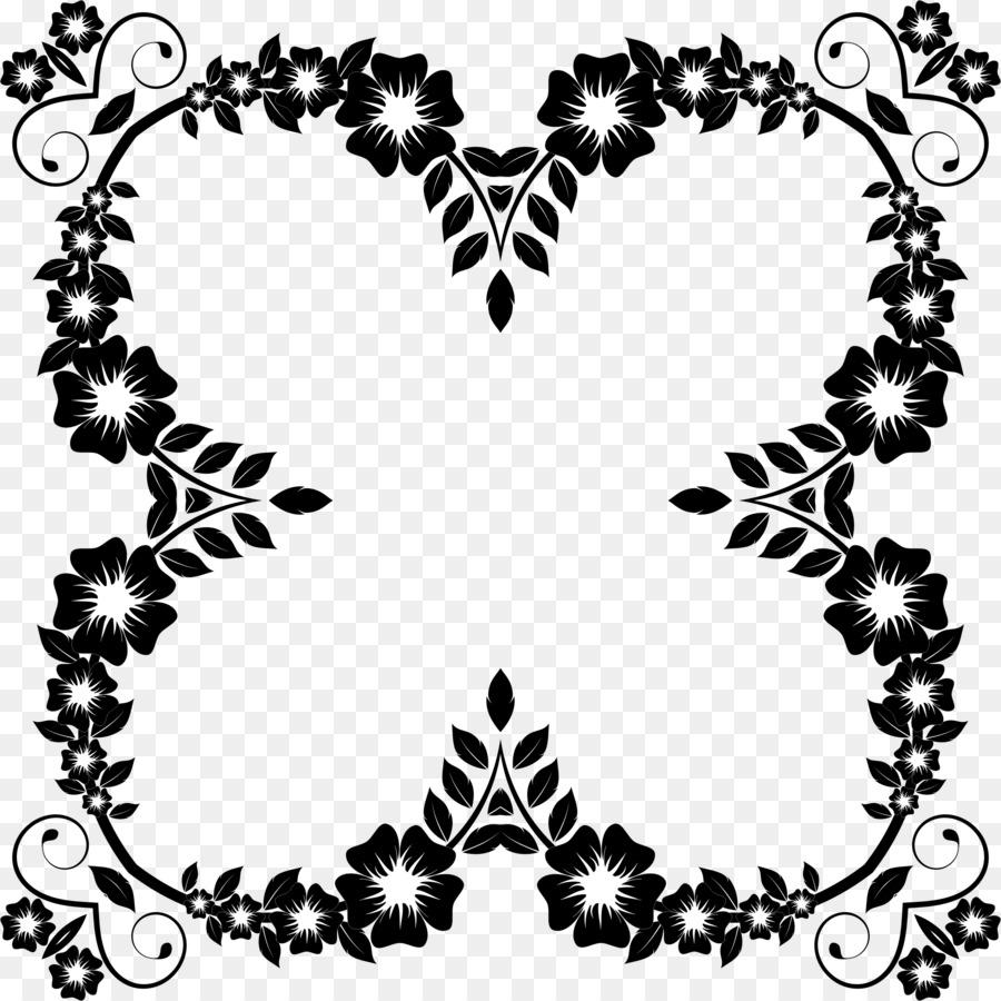 bunga hitam dan putih bingkai foto gambar png bunga hitam dan putih bingkai foto