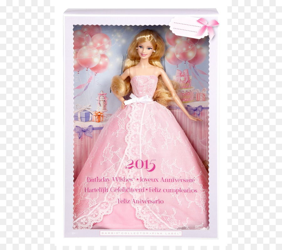 Barbie Boneka Ulang Tahun Gambar Png
