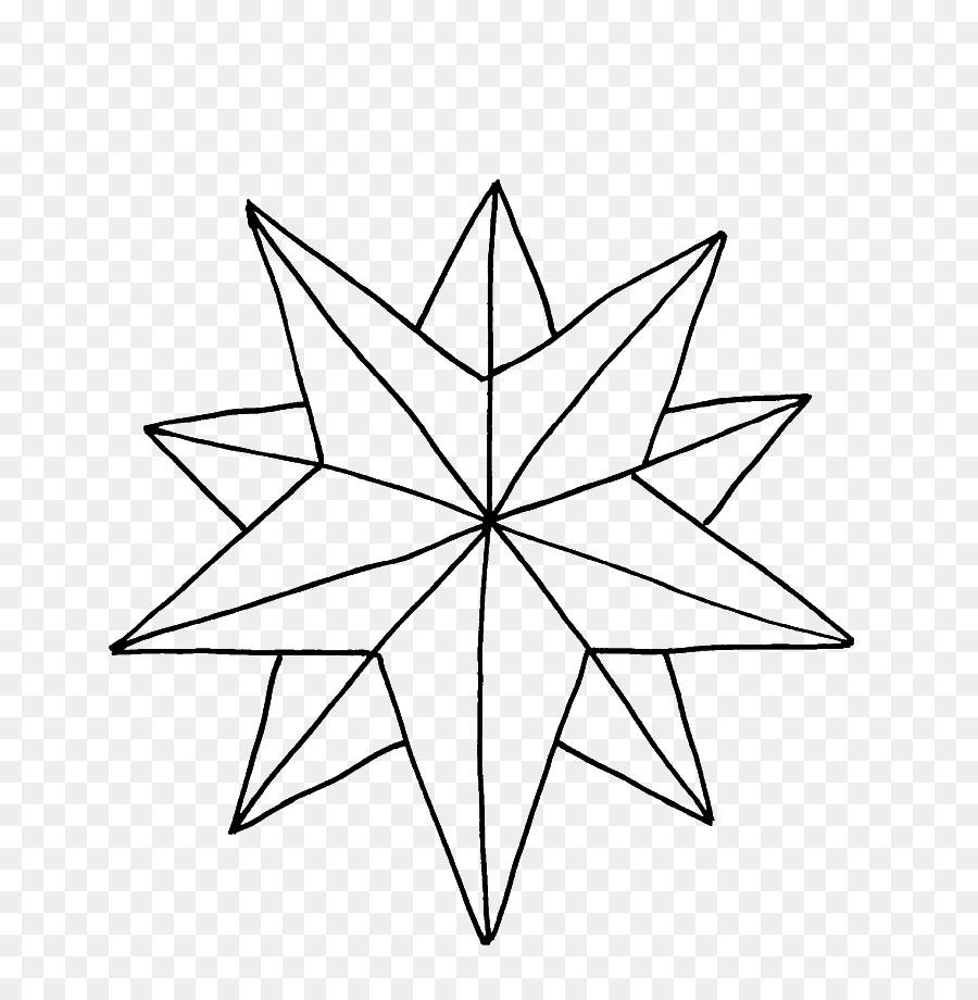 Buku Mewarnai Natal Bintang Betlehem Gambar Png