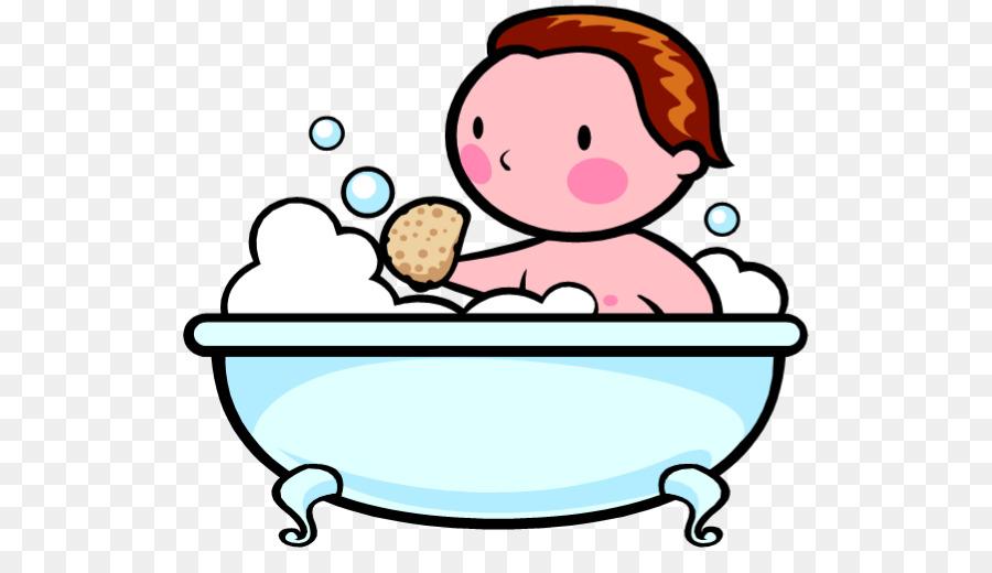 buku mewarnai mandi bak mandi gambar png