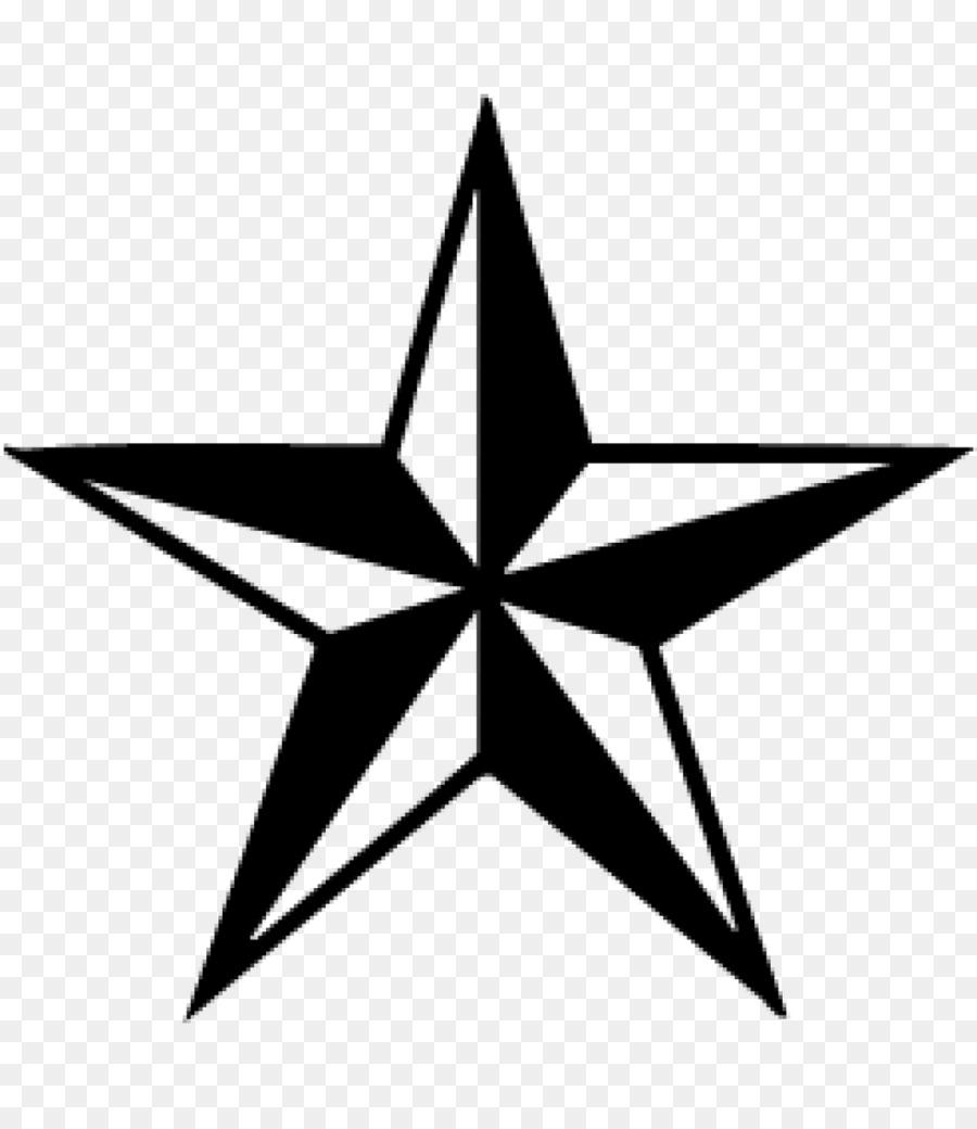 Bintang Hitam Dan Putih Bintang Laut Gambar Png