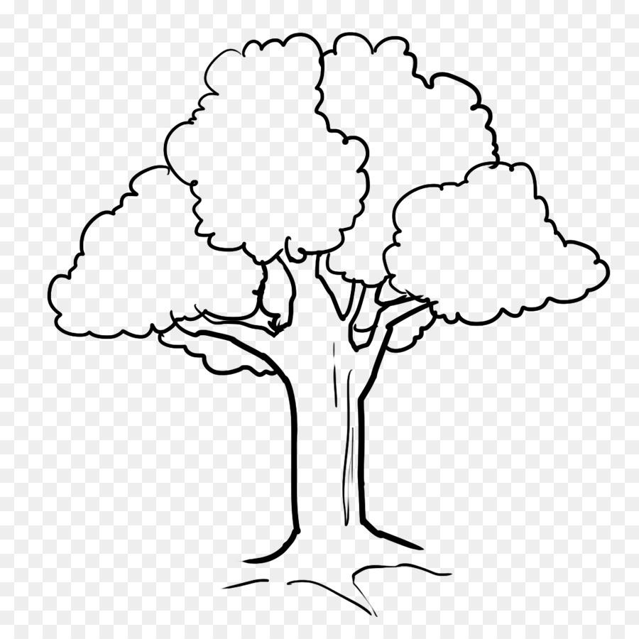 Top Ten Gambar Pohon Kartun Untuk Mewarnai
