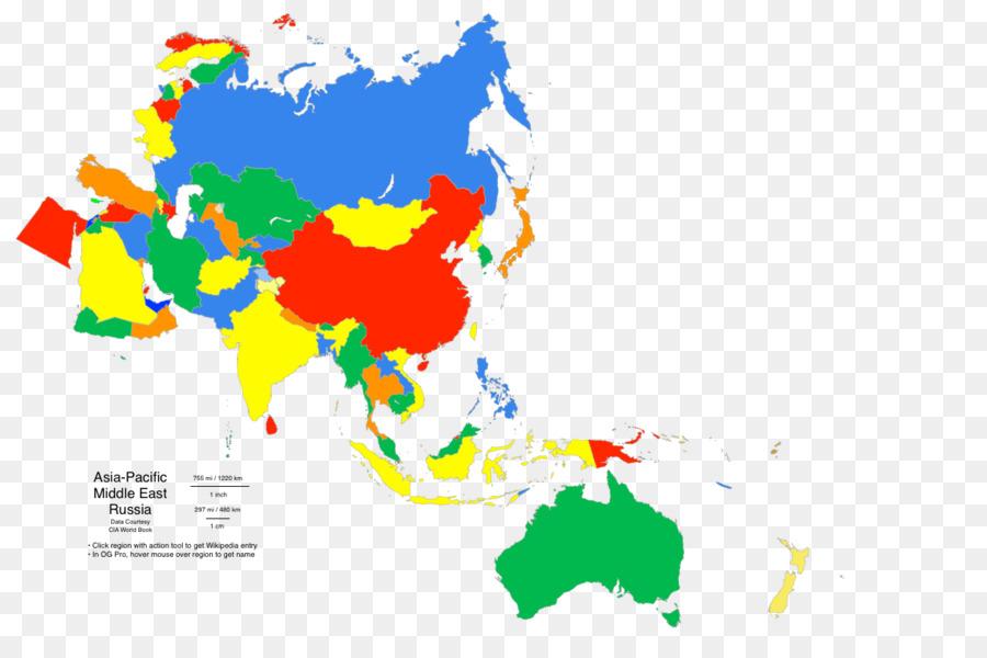 Peta Peta Kosong Asia Gambar Png