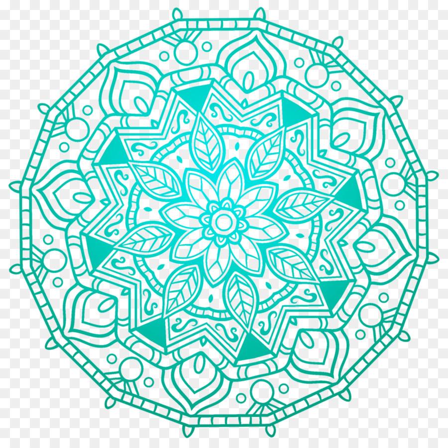 Mandala Desktop Wallpaper Stiker Dinding Gambar Png