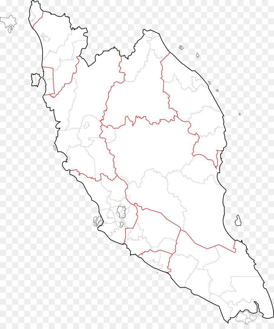 Peta Semenanjung Malaysia Peta Kosong Gambar Png