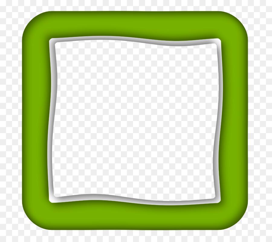 garis bingkai foto hijau gambar png pngdownload id
