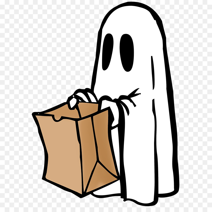 Buku Mewarnai Halloween Hantu Gambar Png