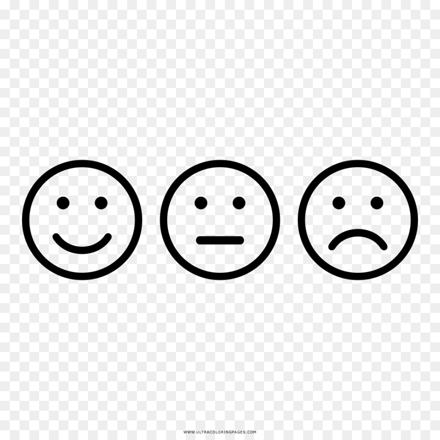 Senyum Emosi Buku Mewarnai Gambar Png