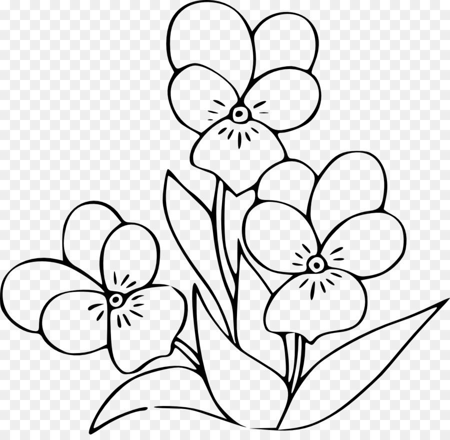 Gambar Bunga Buku Mewarnai Gambar Png