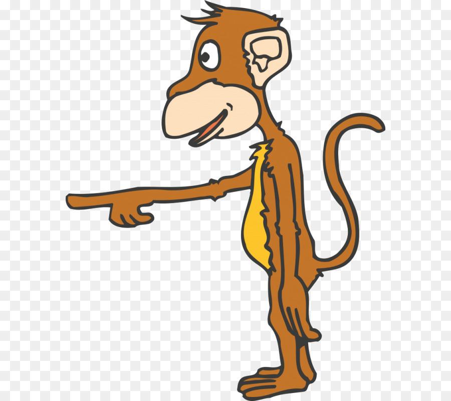 63 Gambar Animasi Monyet Keren Terlihat Keren