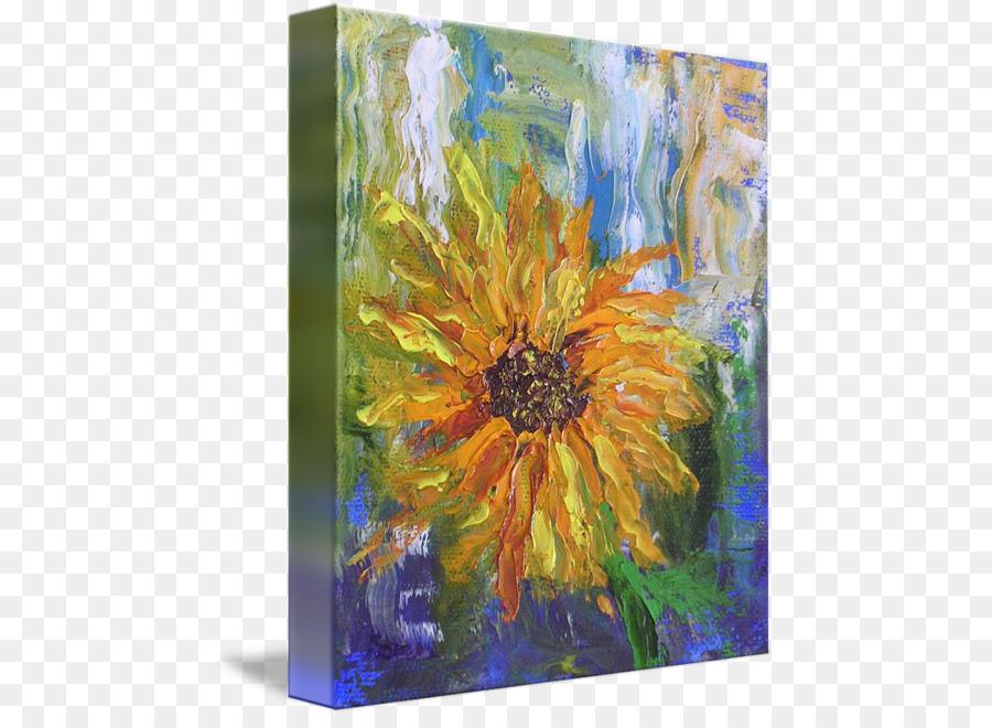 7000 Gambar Bunga Matahari Di Kanvas HD Terbaik