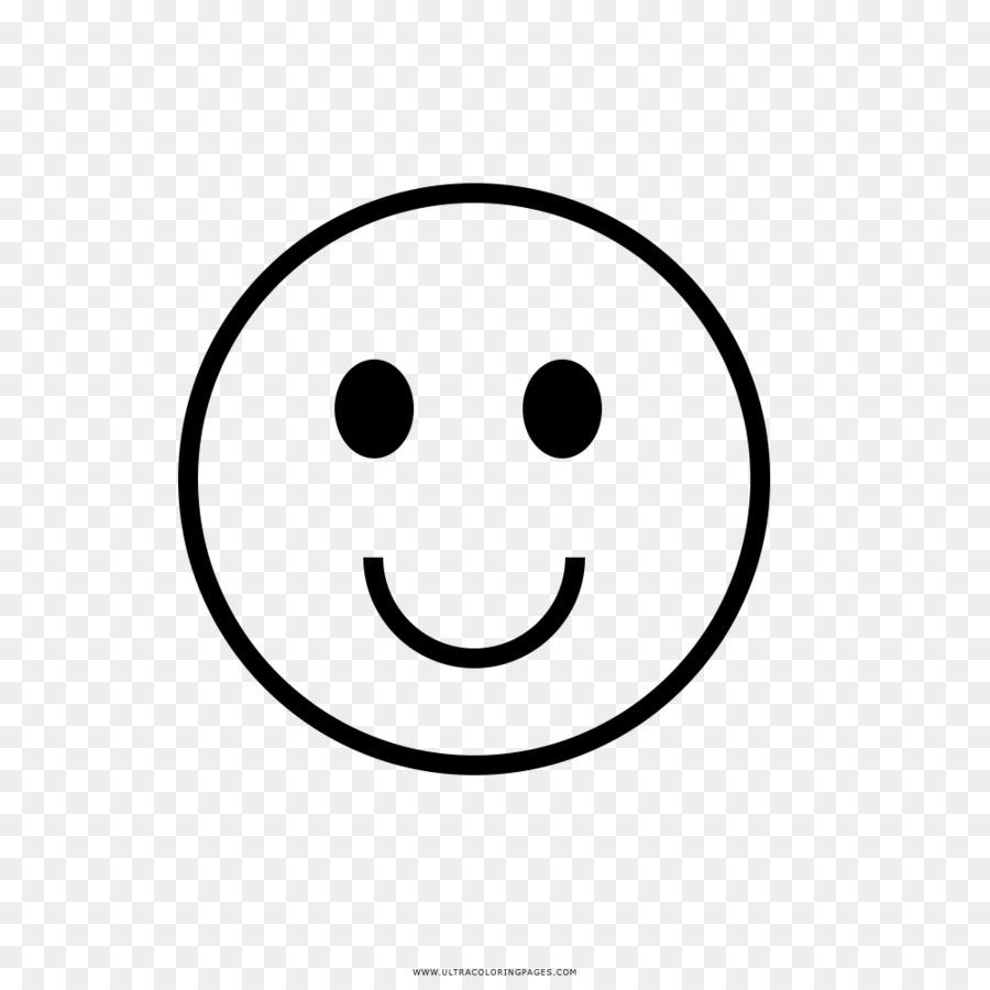 Smiley Senyum Buku Mewarnai Gambar Png