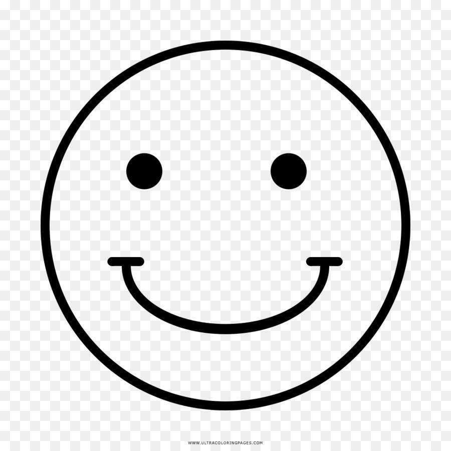 Smiley Senyum Garis Seni Gambar Png