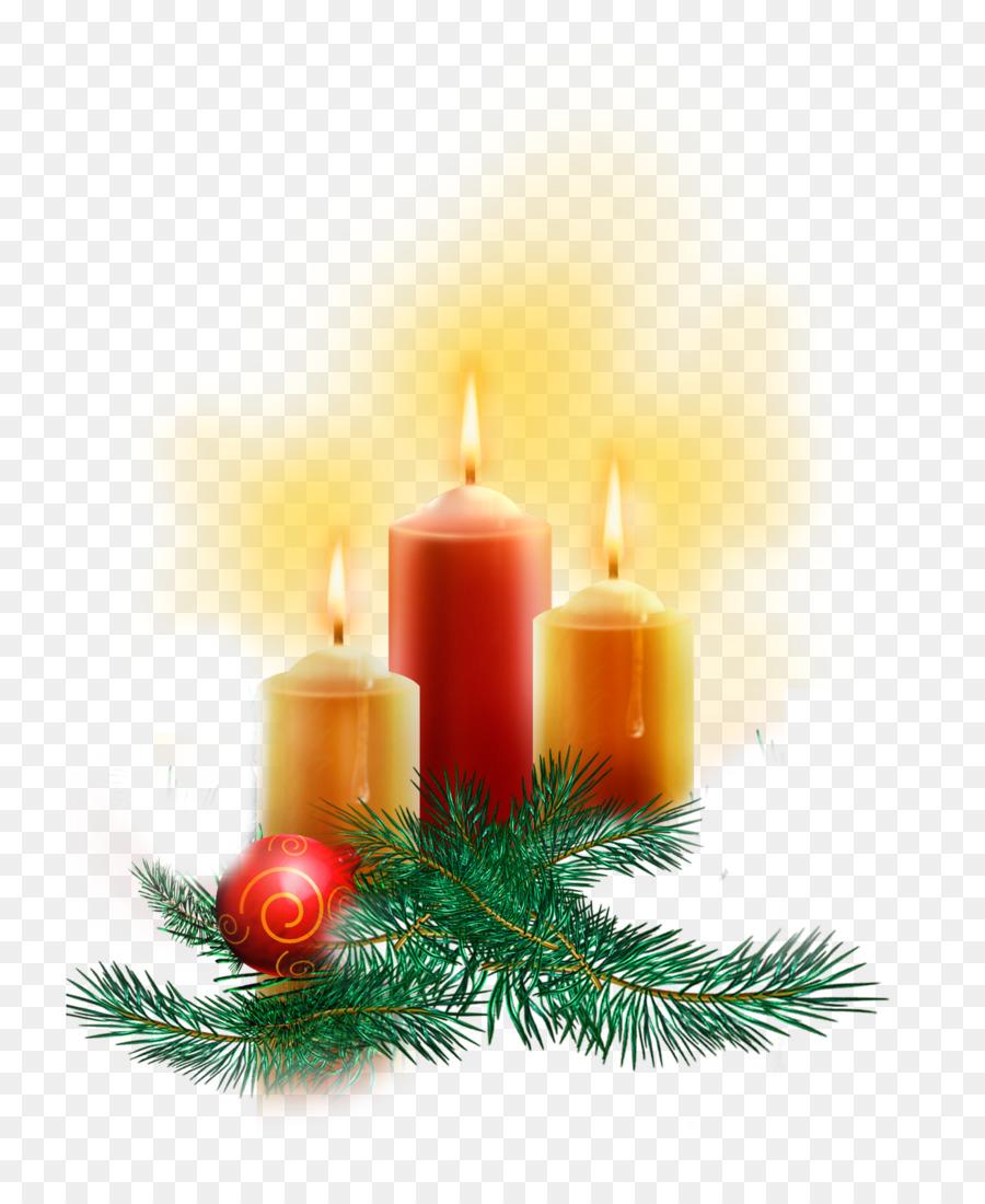 Cahaya, Lilin, Natal Gambar Png