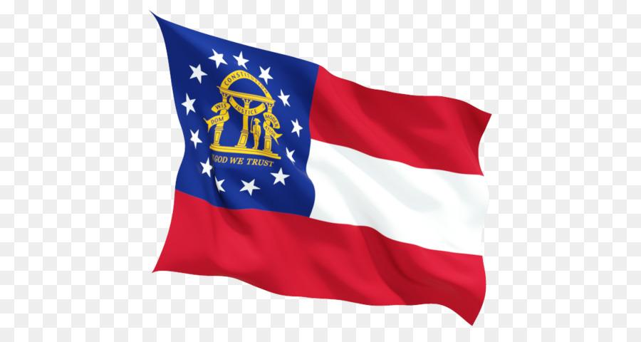 Amerika Serikat Bendera Bendera Georgia Gambar Png