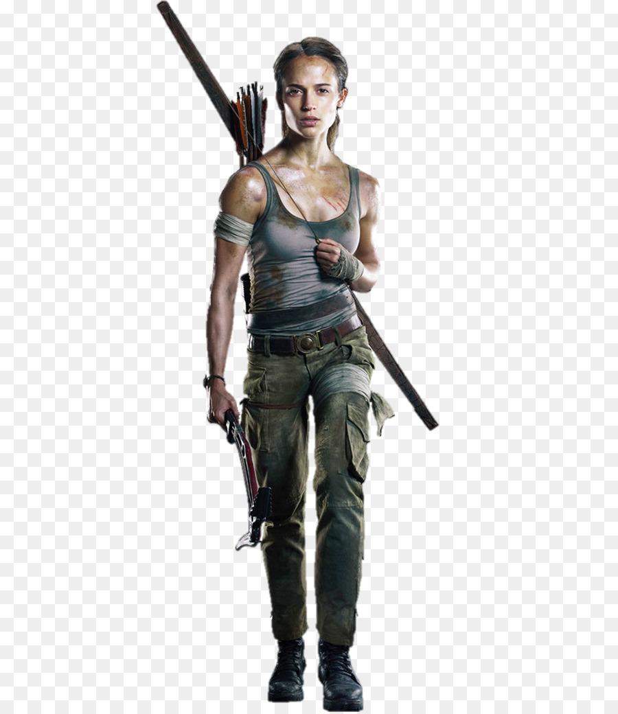 Tomb Raider Lara Croft Alicia Vikander Gambar Png
