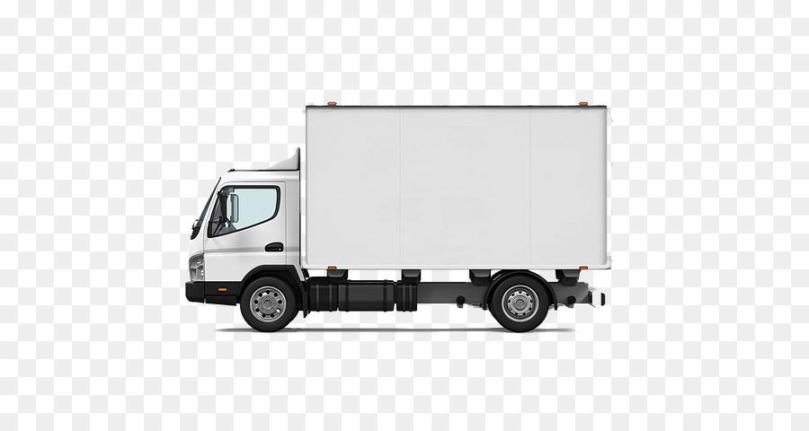 Mobil Truk Box Truk Gambar Png