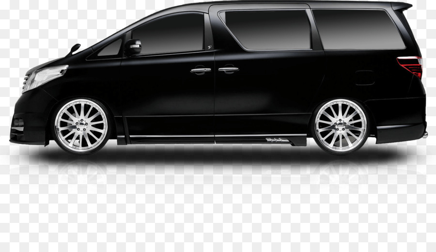 Toyota Alphard Kendaraan Mewah Mobil Gambar Png