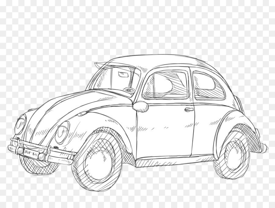 30 Ide Gambar Sketsa Mobil Antik Tea And Lead