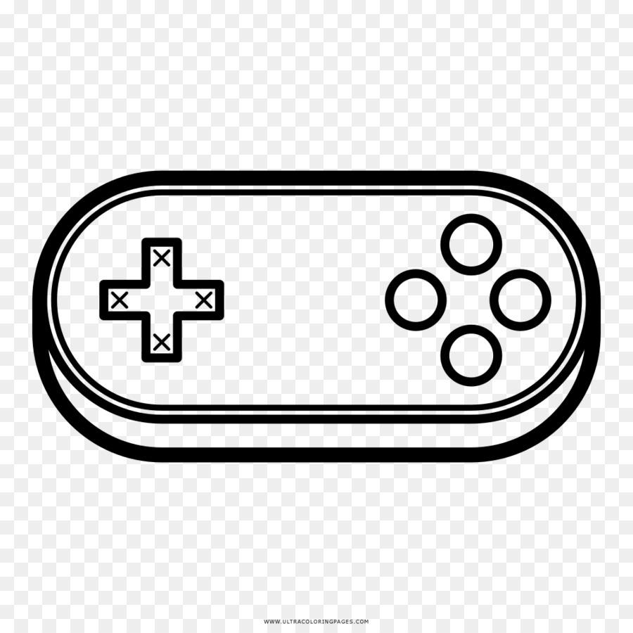 Buku Mewarnai Permainan Video Kontroler Game Gambar Png