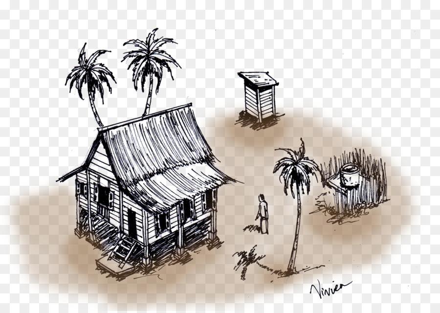 rumah melayu kampung fasad gambar png rumah melayu kampung fasad gambar png