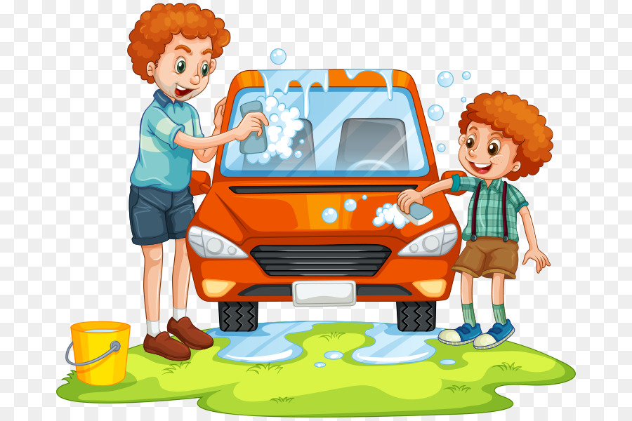 550 Koleksi Gambar Kartun Orang Mencuci Mobil Terbaru