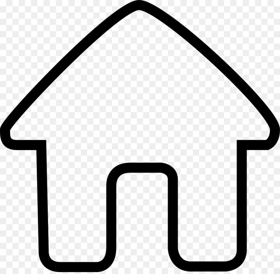 Halaman Rumah Hitam Dan Putih Sudut Gambar Png