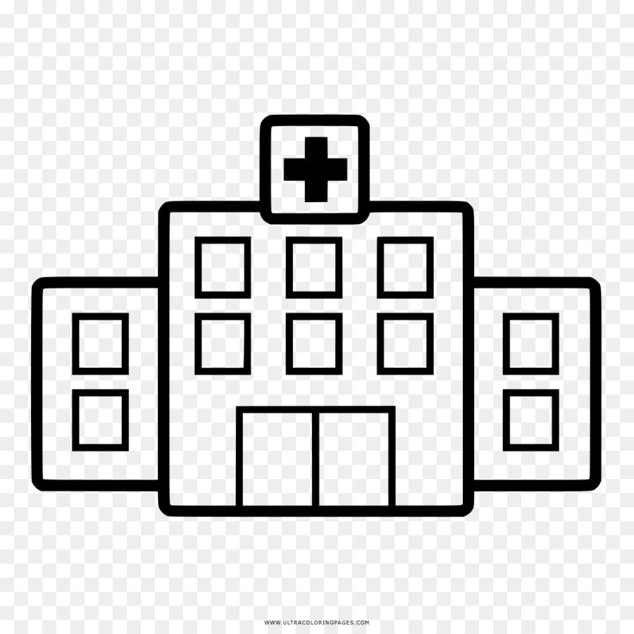 Gambar Rumah Sakit Buku Mewarnai Gambar Png
