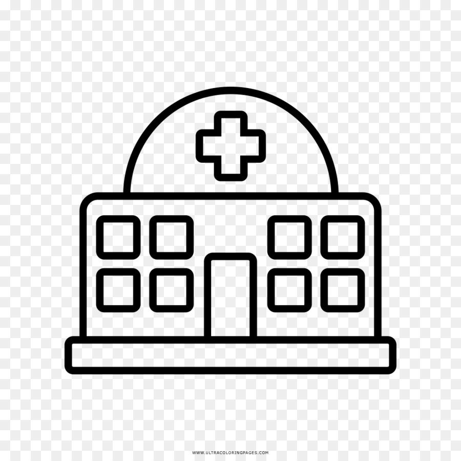Rumah Sakit Gambar Buku Mewarnai Gambar Png
