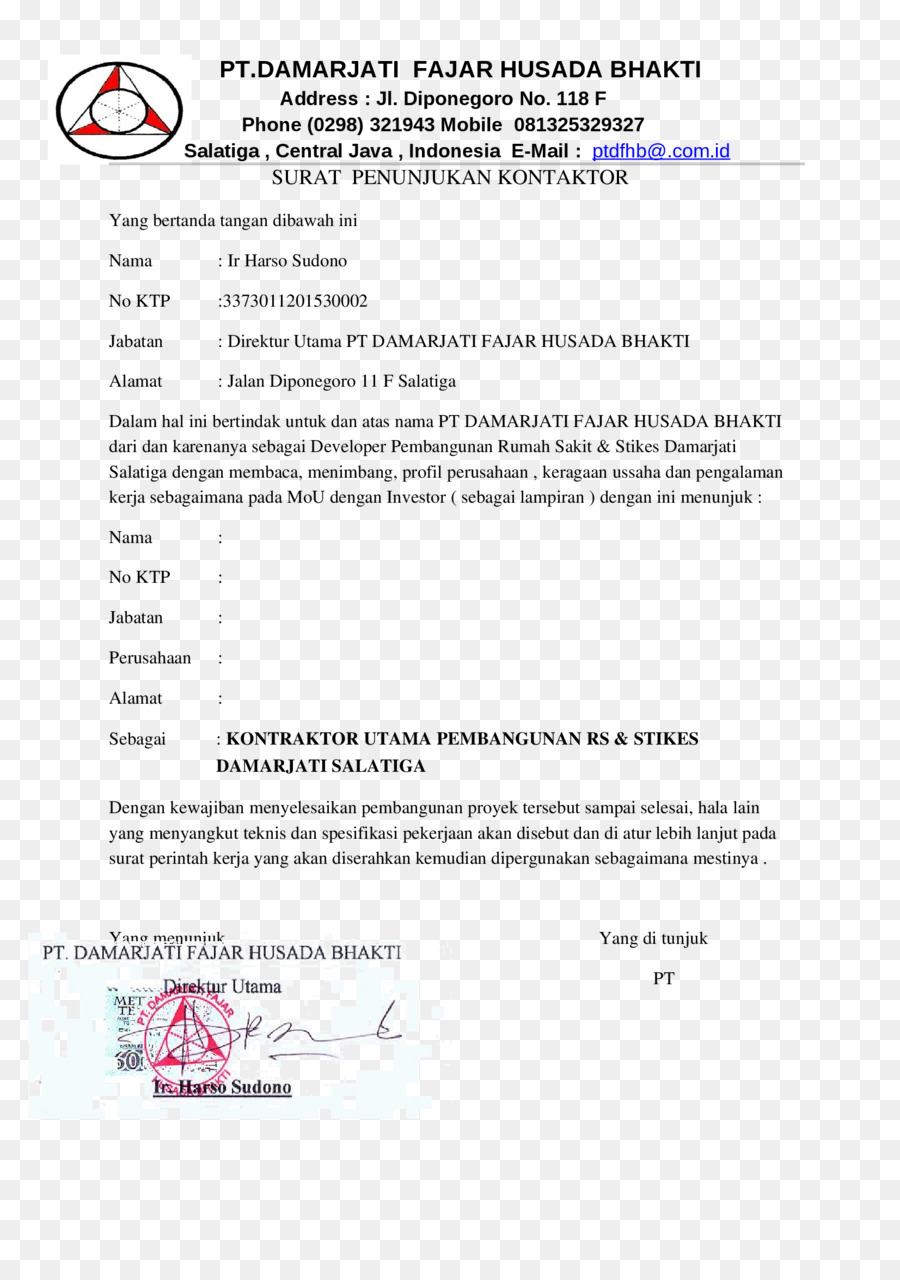 Dokumen Surat Bisnis Gambar Png