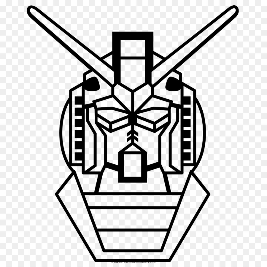 Buku Mewarnai Gundam Model Gundam Gambar Png