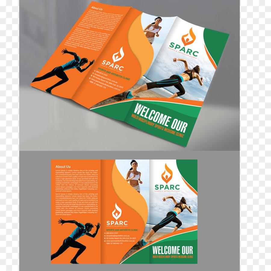Brosur Iklan Olahraga Gambar Png