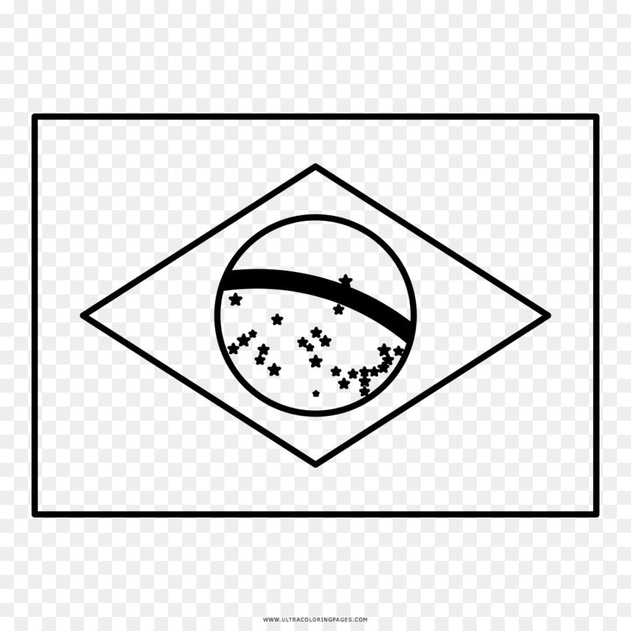 Bendera Brasil Brasil Buku Mewarnai Gambar Png
