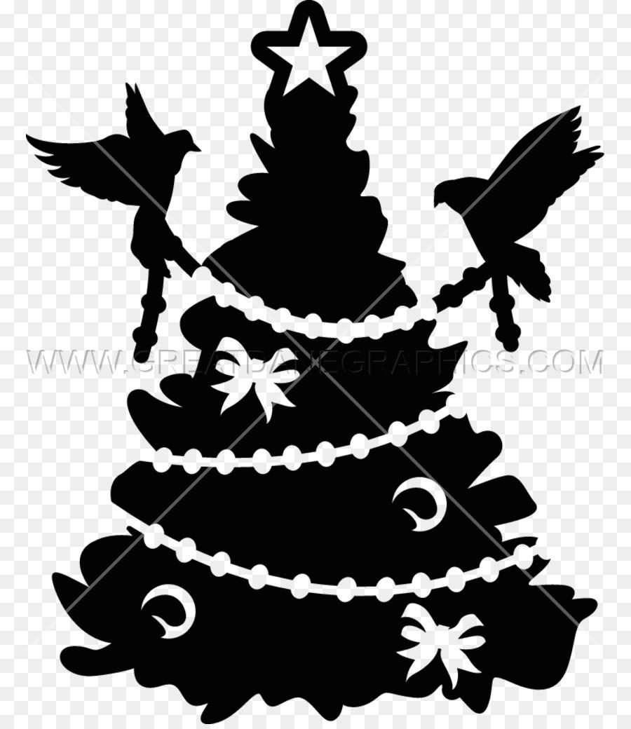 The Romp Family 30 Ide Keren Pohon Natal Hitam Putih Png