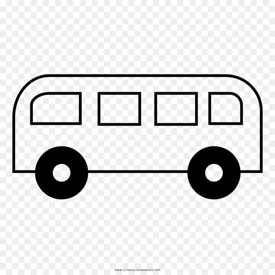 Bus Buku Mewarnai Gambar Gambar Png