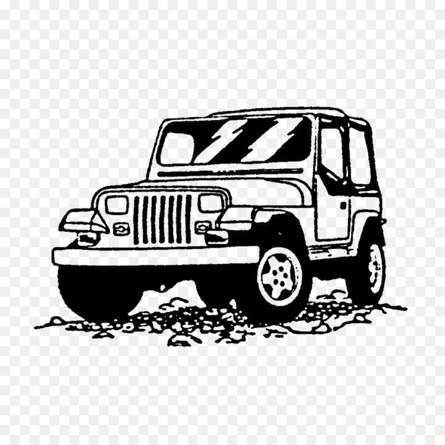 Jeep Wrangler Jeep Mobil Gambar Png