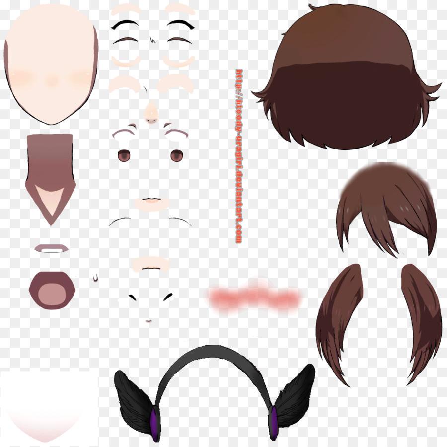 Alis Mewarnai Rambut Bulu Mata Gambar Png