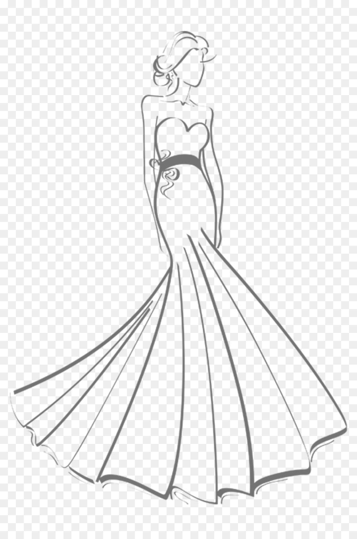 Gaun Gaun Pengantin Gambar Gambar Png