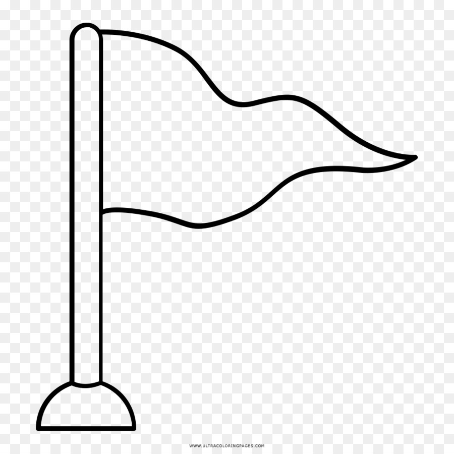 Buku Mewarnai Gambar Bendera Gambar Png