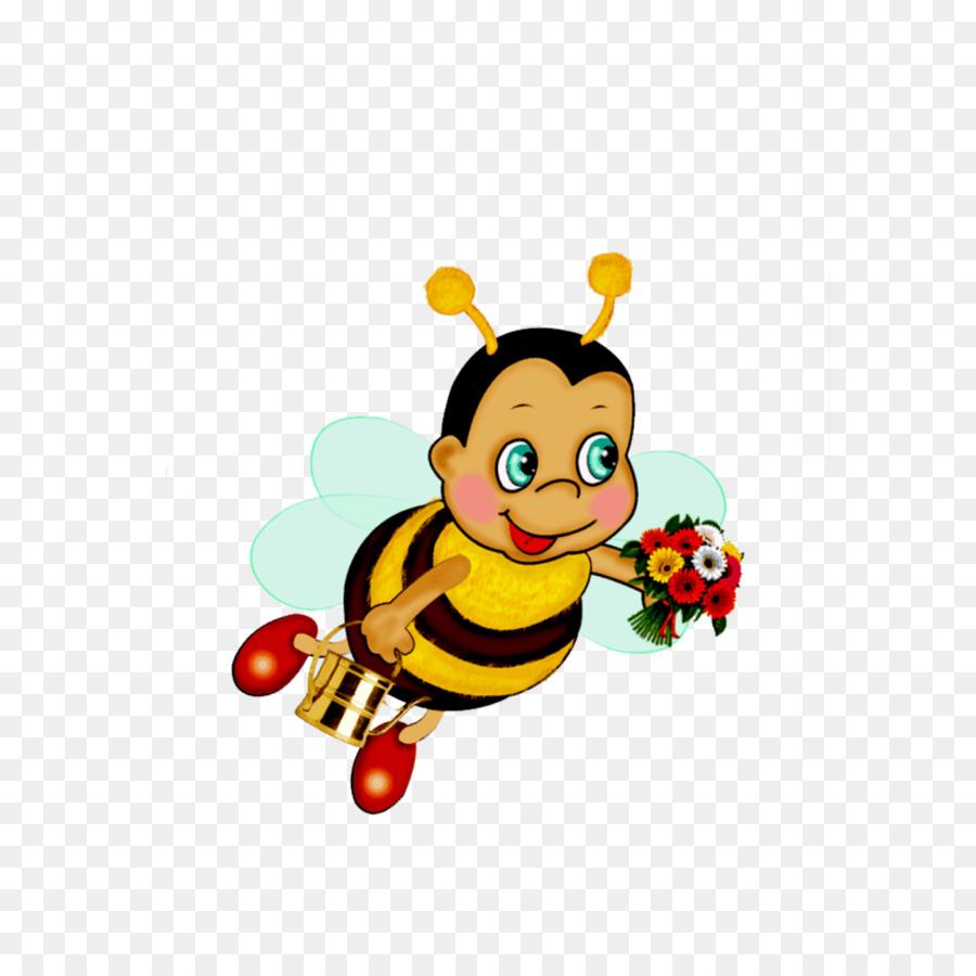 Lebah Madu Lebah Buku Harian Gambar Png