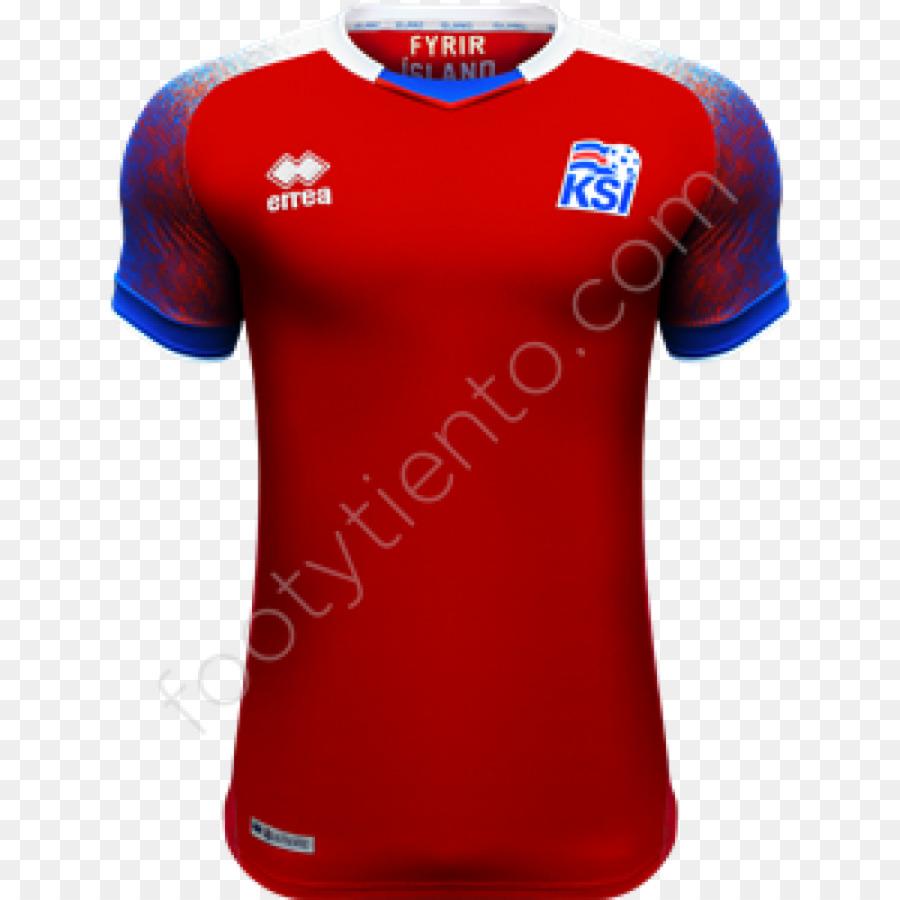 Piala Dunia 2018 Tshirt Tim Nasional Sepak Bola Islandia
