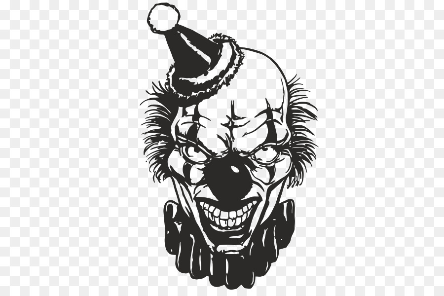 Stiker Dinding Joker Badut Gambar Png