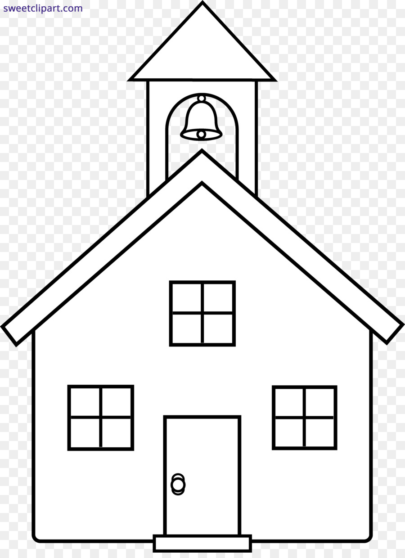 Buku Mewarnai Gereja Halaman Mewarnai Gambar Png