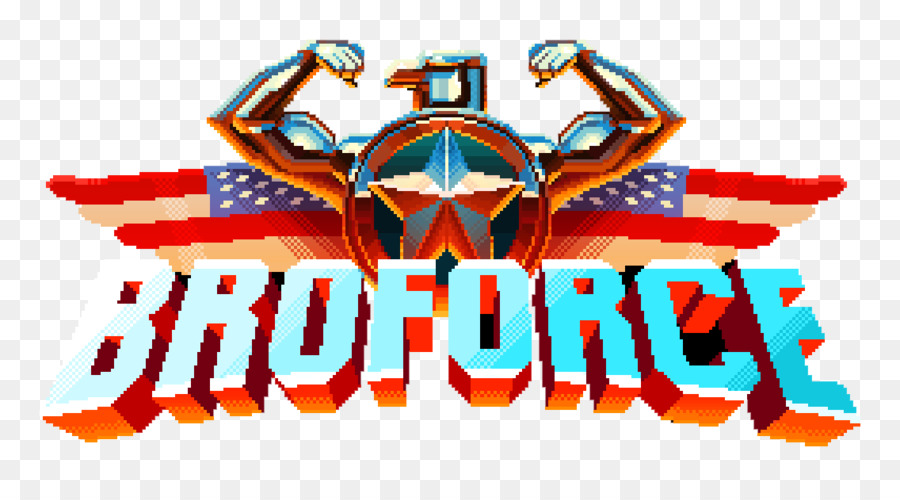 Broforce Gamerip Multiplayer Permainan Video Gambar Png