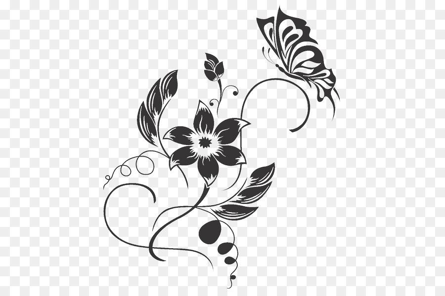 Seni Dekoratif Stiker Dinding Ornamen Gambar Png